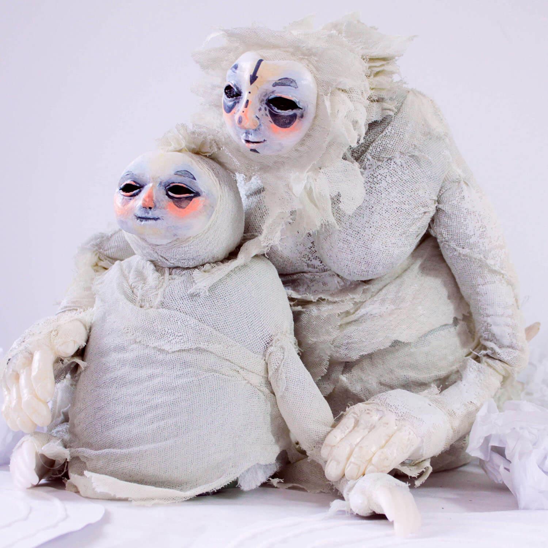 Marionnettes de Mélanie