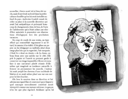 Caricature d'Elizabeth