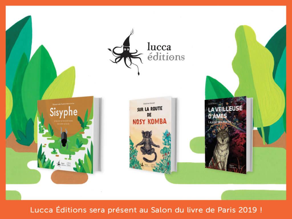 Retrouvez-nous au Salon du livre de Paris 2019 !